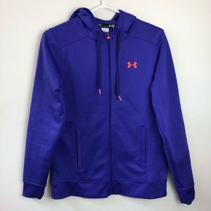 Under Armour size S semi fitted hoodie sweatshirt